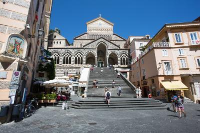Piazza Duomo, Duomo Di Amalfi, Amalfi-Frank Fell-Photographic Print
