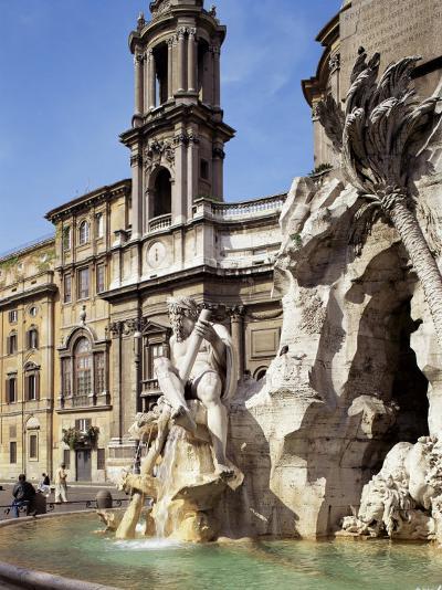 Piazza Navona, Rome, Lazio, Italy-Peter Scholey-Photographic Print