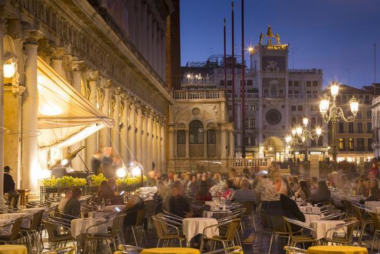 Piazza San Marco, Venice, UNESCO World Heritage Site, Veneto, Italy, Europe-Frank Fell-Photographic Print