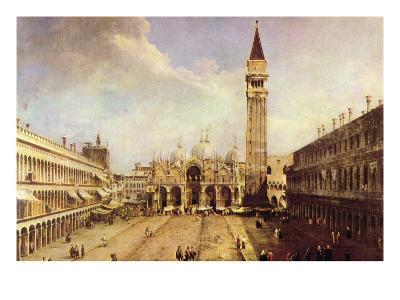 Piazza San Marco-Canaletto-Art Print