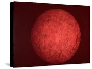 Pic. of Planet Mars, Re Pres. Bush Speech Re Amer. Future in Space Including Manned Mission to Mars