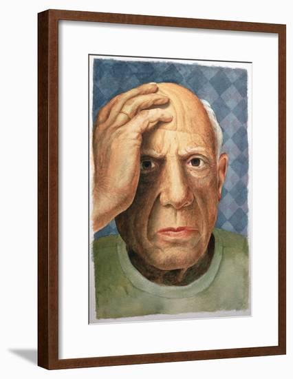 Picasso (1881-1973)-Trevor Neal-Framed Giclee Print