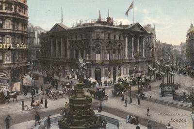 Piccadilly Circus, London--Photographic Print