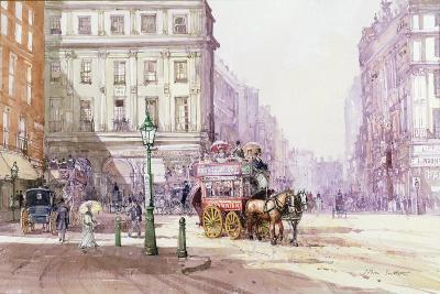 Piccadilly Circus Towards Regent Street, C.1893-John Sutton-Giclee Print