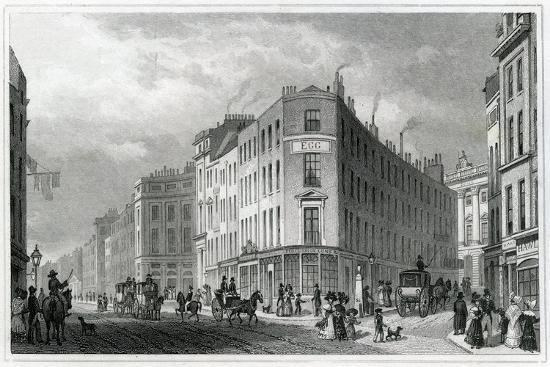 Piccadilly, from Coventry Street, 1830-Thomas Hosmer Shepherd-Giclee Print