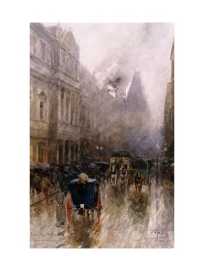 Piccadilly, London-Paolo Sala-Giclee Print