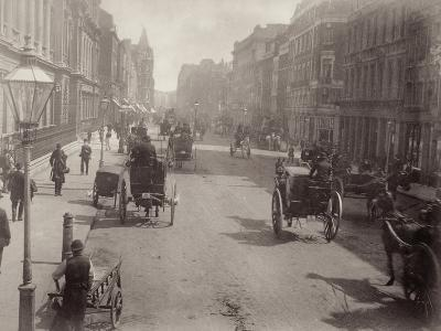 Piccadilly, Looking East, London--Photographic Print