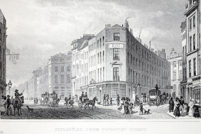 Piccadilly-Thomas Hosmer Shepherd-Giclee Print