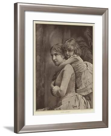 Pick-A-Back--Framed Giclee Print