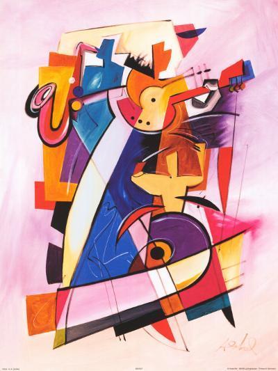 Pick up the Beat-Alfred Gockel-Art Print