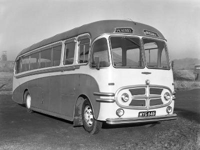 Pickerills Commer Coach, Darfield, Near Barnsley, South Yorkshire, 1957-Michael Walters-Photographic Print