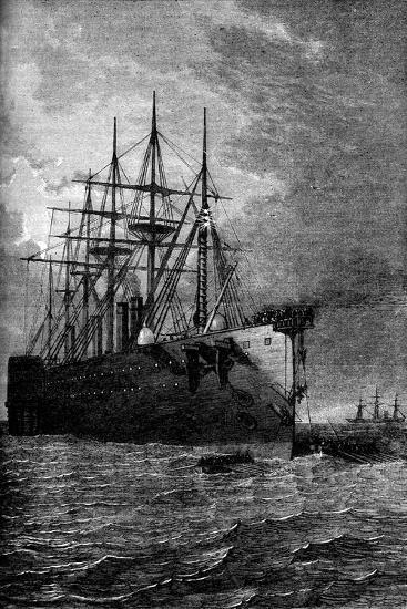 Picking Up the Atlantic Cable, 1866--Giclee Print