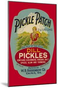 Pickle Patch Dill Pickles