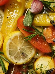 Pickled Vegetables with Herbs and Garlic