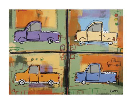 Pickups-Brian Nash-Art Print