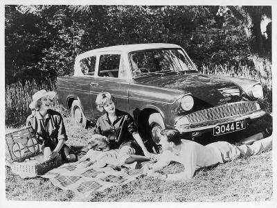 Picnic in the Country--Photographic Print