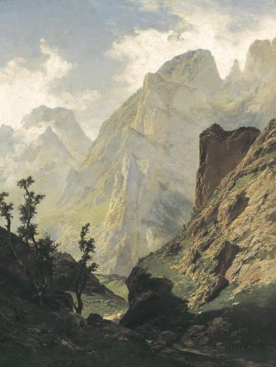 Picos De Europa-Carlos de Haes-Art Print