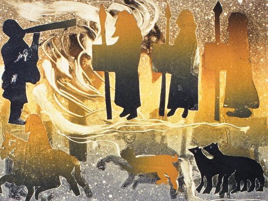 Pictish Melody, 2000-Gloria Wallington-Giclee Print