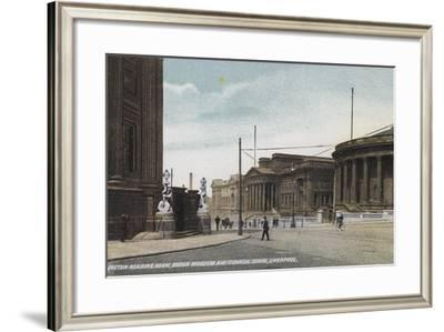 Picton Reading Room, Brown Museum and Technical School, Liverpool--Framed Photographic Print