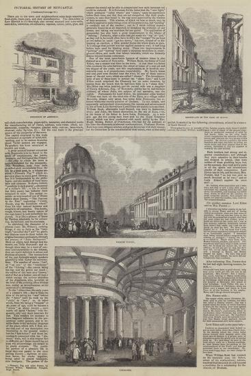 Pictorial History of Newcastle--Giclee Print