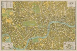 Pictorial Map of London