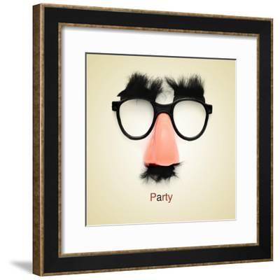Picture Of Fake Glasses-nito-Framed Premium Giclee Print