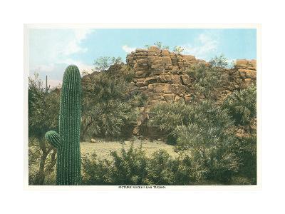 Picture Rocks Near Tucson--Art Print