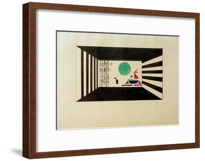Pictures at an Exhibition Picture II Gnomus, 1930-Wassily Kandinsky-Framed Giclee Print