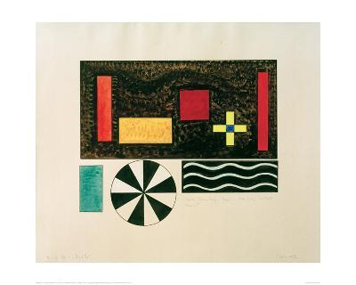 Pictures at an Exhibition Picture VII Bydlo, 1930-Wassily Kandinsky-Giclee Print