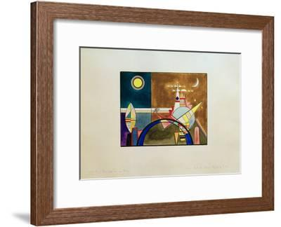 Pictures at an Exhibition Picture XVI, 1930-Wassily Kandinsky-Framed Giclee Print