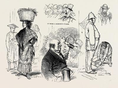 Pictures of London by a French Artist: Chairman of a Musical Meeting -Ten Pints an Hour--Giclee Print