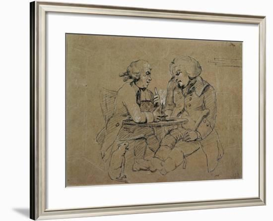 Picturesque Beauties of Boswell--Framed Giclee Print
