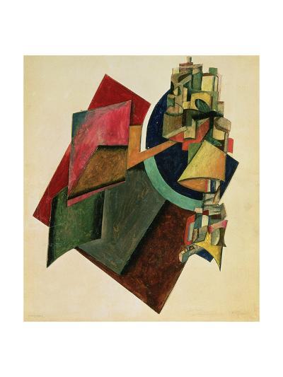Picturesque Composition, 1919-Alexander Rodchenko-Giclee Print
