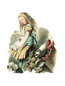 Alice in Wonderland by John Tenniel by Piddix