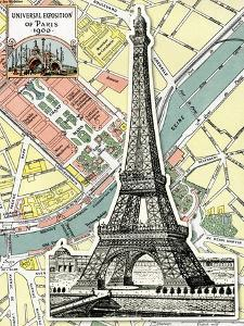 Eiffel Tower Universal Exposition of Paris, 1900 by Piddix