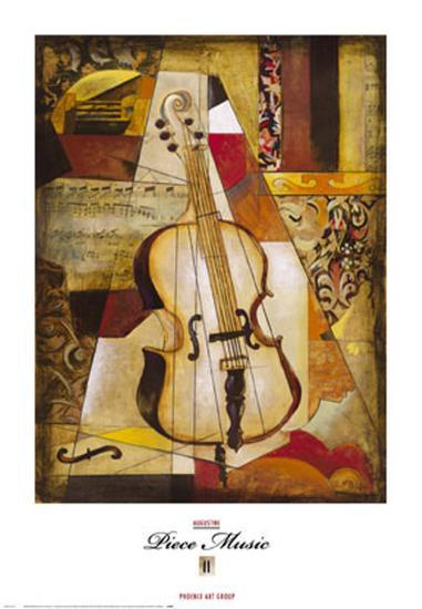 Piece Music II-Augustine (Joseph Grassia)-Art Print