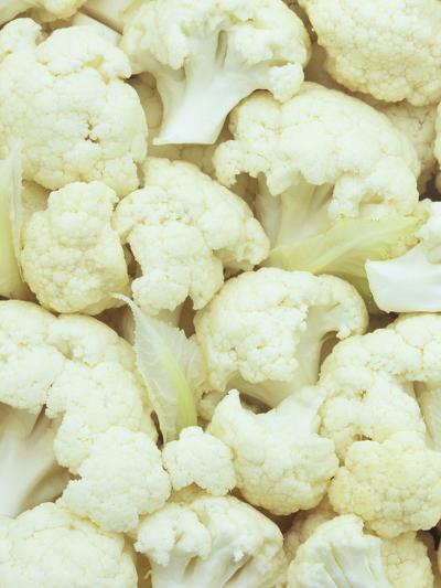 Pieces of Crunchy, Nutritious Cauliflower(Brassica Oleracea)-Wally Eberhart-Photographic Print