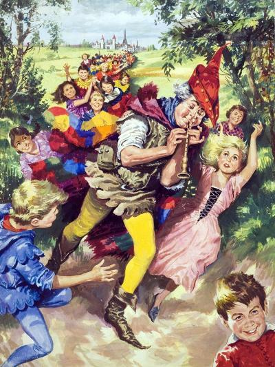 Pied Piper of Hamlin--Giclee Print