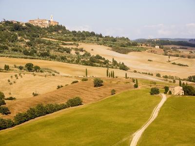 Pienza, Val D'Orcia, Tuscany, Italy, Europe-Marco Cristofori-Photographic Print