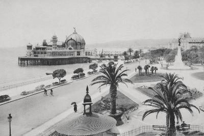 Pier and Promenade Des Anglais, Nice-Chris Hellier-Photographic Print