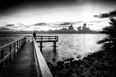 Pier at Sunset-Philippe Hugonnard-Photographic Print