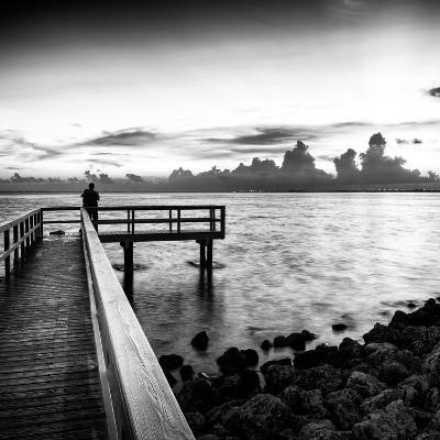 Pier at Sunset-Philippe Hugonnard-Photographic Print
