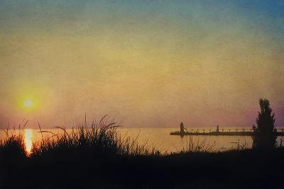 Pier at Sunset-Kelly Sillaste-Photographic Print