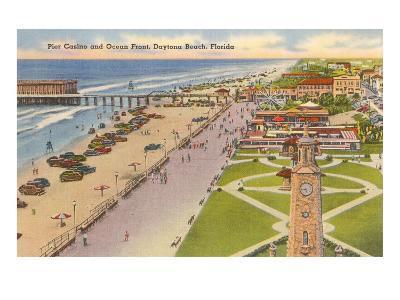 Pier, Casino, Daytona Beach, Florida--Art Print
