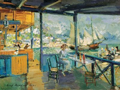 Pier in Gurzuf, 1914-Konstantin Korovin-Giclee Print