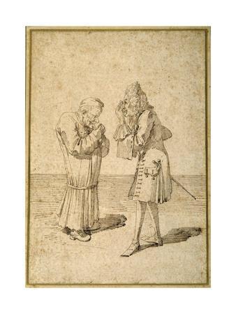 Baron Philip Von Stosch Showing an Antique Gem to Sabbatini