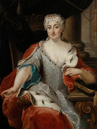 Portrait of Maria Clementina Sobieska (1702-173)