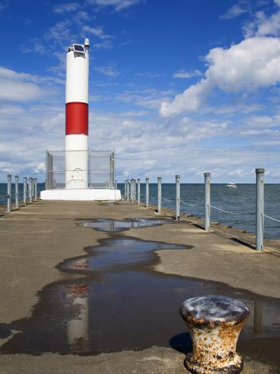 Pier Lighthouse, Rochester, New York State, United States of America, North America-Richard Cummins-Photographic Print