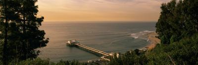 Pier, Malibu, California, USA--Photographic Print