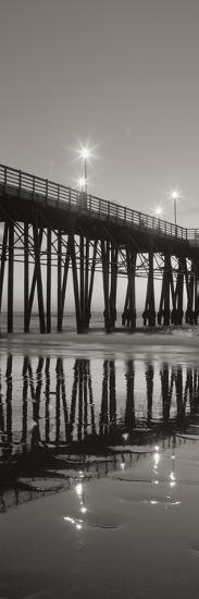 Pier Night Panel II-Lee Peterson-Photographic Print